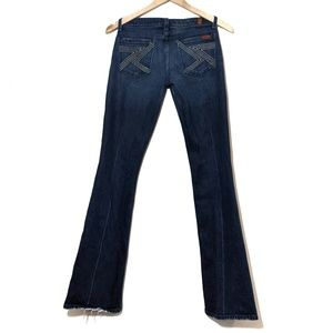 7 For All Mankind | Flynt Flare Jeans Medium Wash